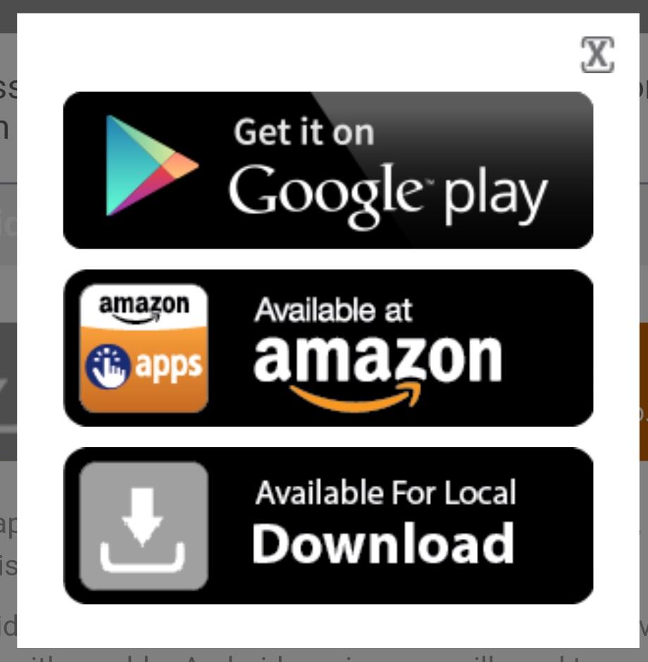 Select google play