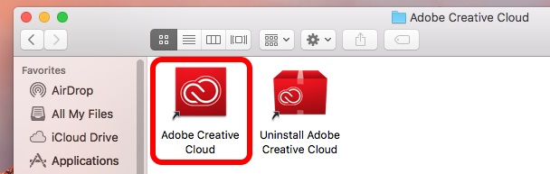 Adobe Creative Cloud application