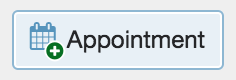 Appointment icon within the student profile