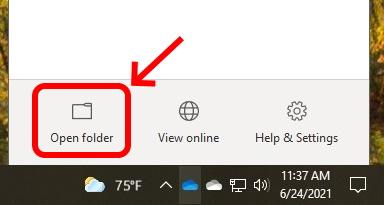 OneDrive - Open Folder