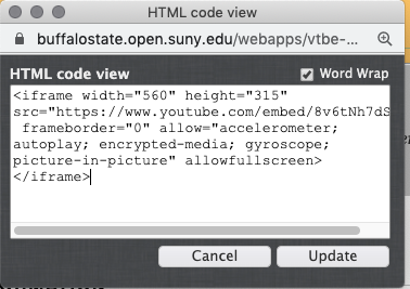 embed code pop up window