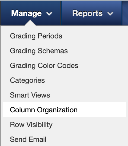 column organization