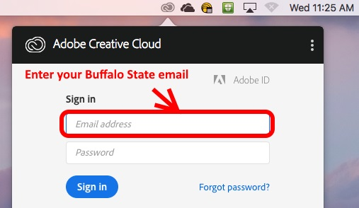 Buffalo State email address
