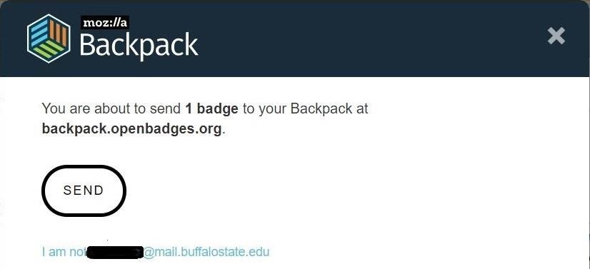 Send Badge