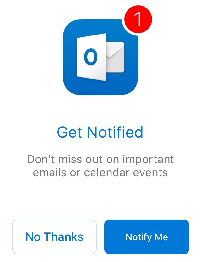 Notification Selection