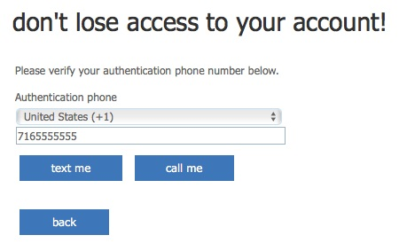authenticate by phone